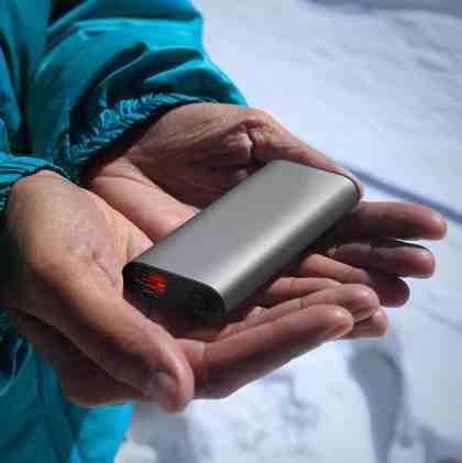 Aplic Alu Handwärmer mit Powerbank-Funktion »1800mAh Akku Power Bank mit Taschenwärmer«