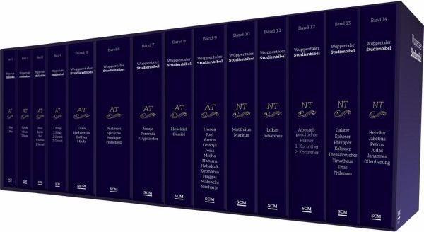 Gebundenes Buch »Wuppertaler Studienbibel, Gesamtausgabe im...«