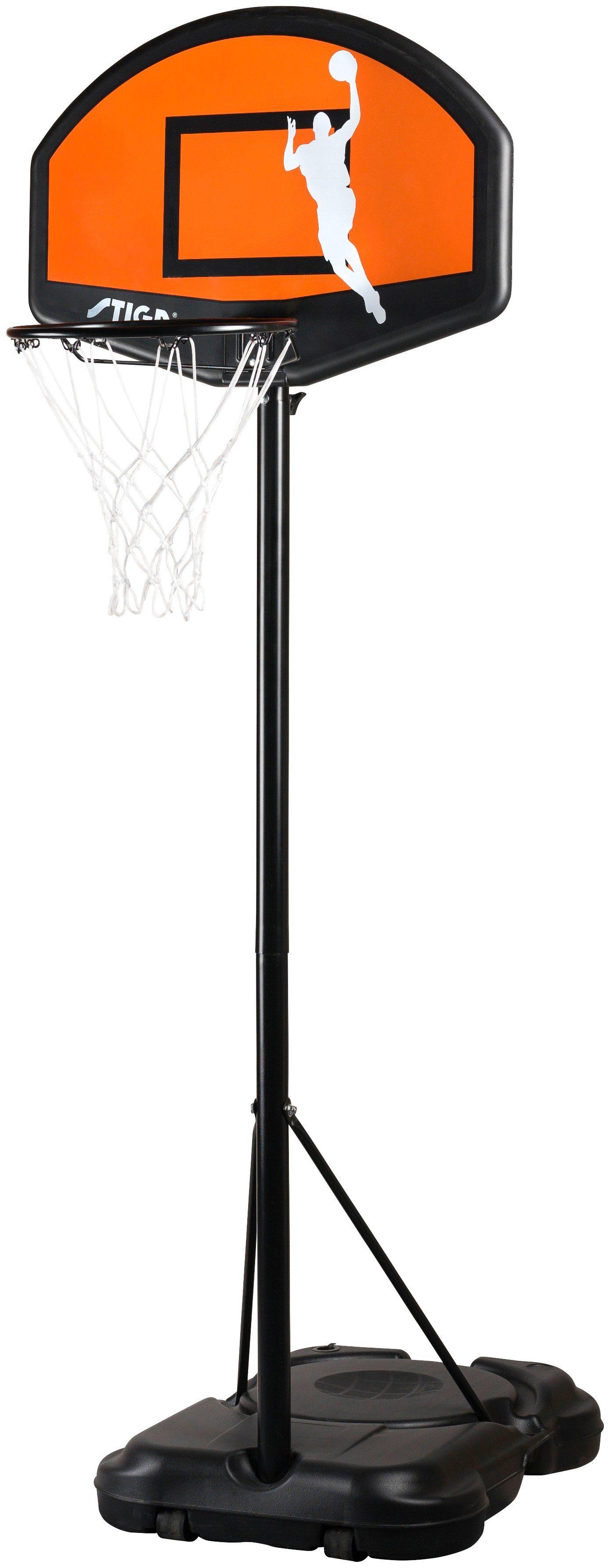 STIGA Basketballanlage »SLAM 30''«, Höhenverstellbar von 165 - 220 cm