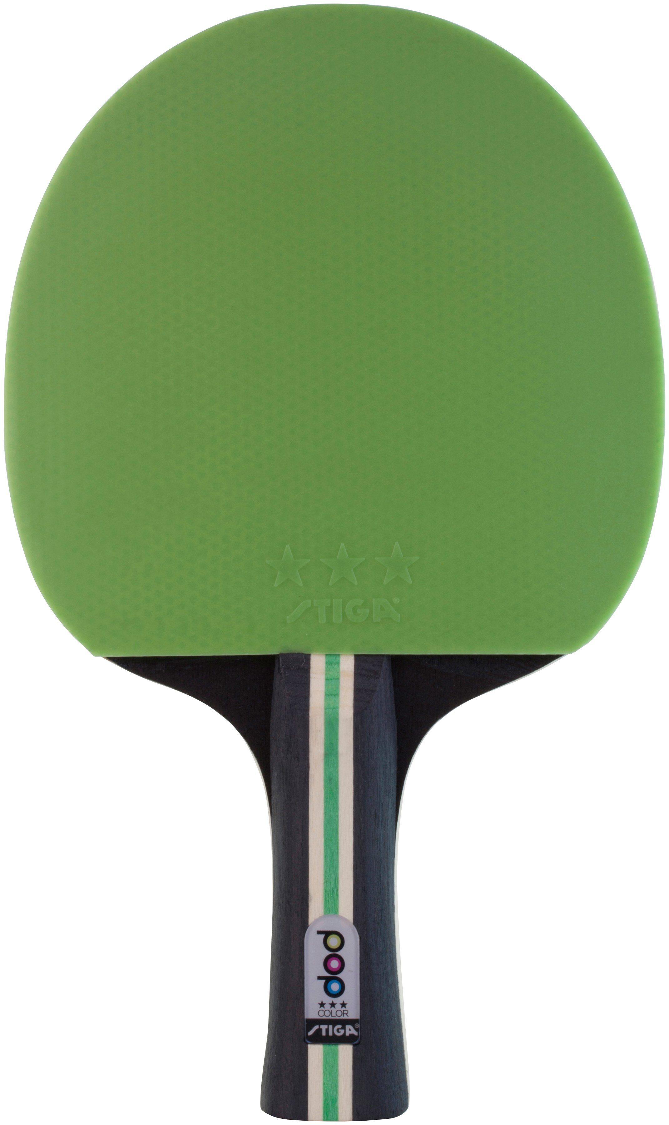 STIGA Tischtennisschläger »Pop Color grün«