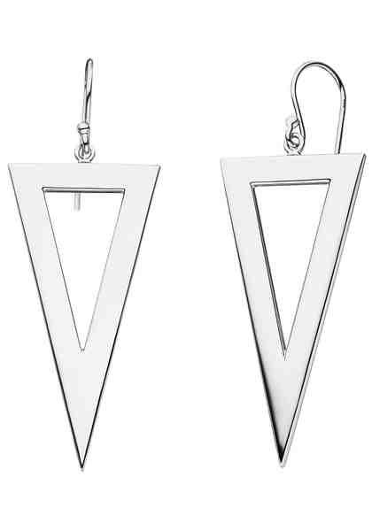 JOBO Paar Ohrhänger »Dreieck« 925 Silber