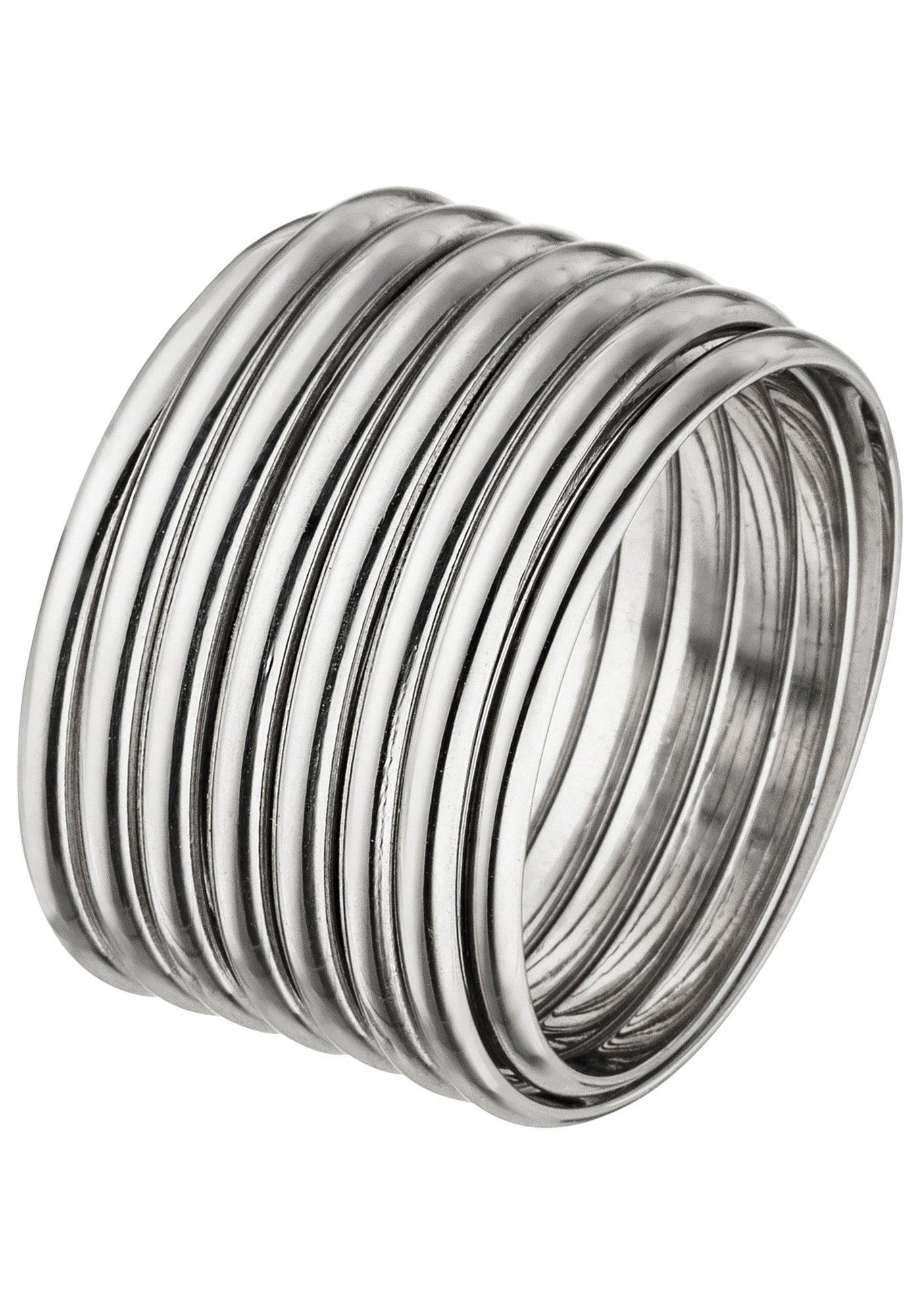 JOBO Silberring breit flexibel 925 Silber