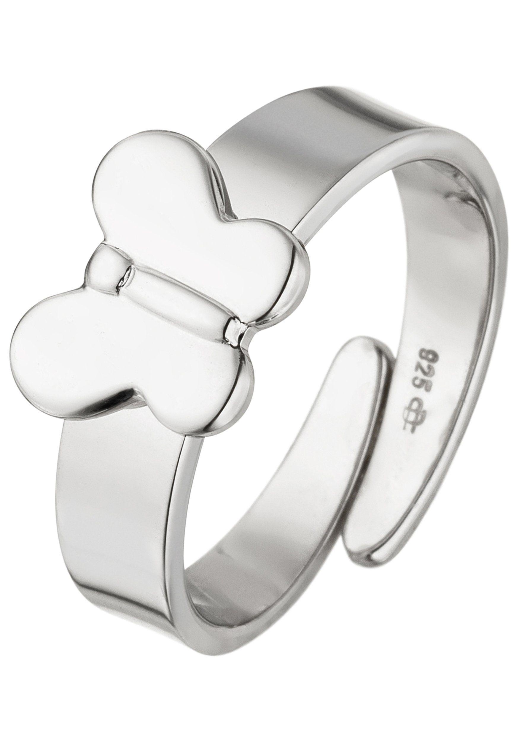 JOBO Silberring »Schmetterling« 925 Silber