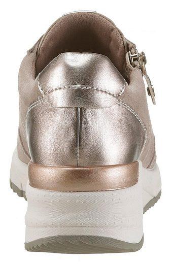 »rea« einsätzen Tamaris Wedgesneaker Metallic Mit SxTqd7wTg6