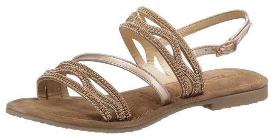 Tamaris »Minu« Sandale mit aufwendiger Verzierung