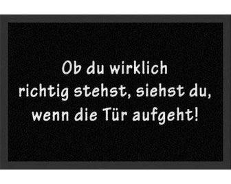 HANSE HOME Durų kilimėlis »Printy 1« rechteckig a...