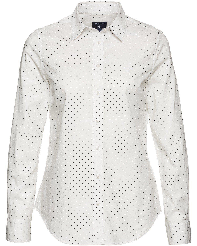 Gant Hemdbluse, gepunktet