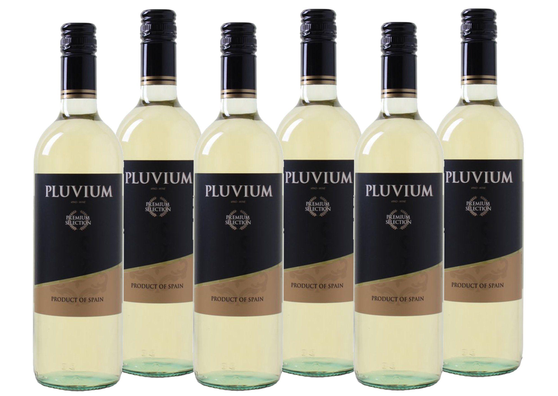 Weißwein aus Spanien »11,5 % - 6 x 0,75 l - Pluvium Premium Selection«