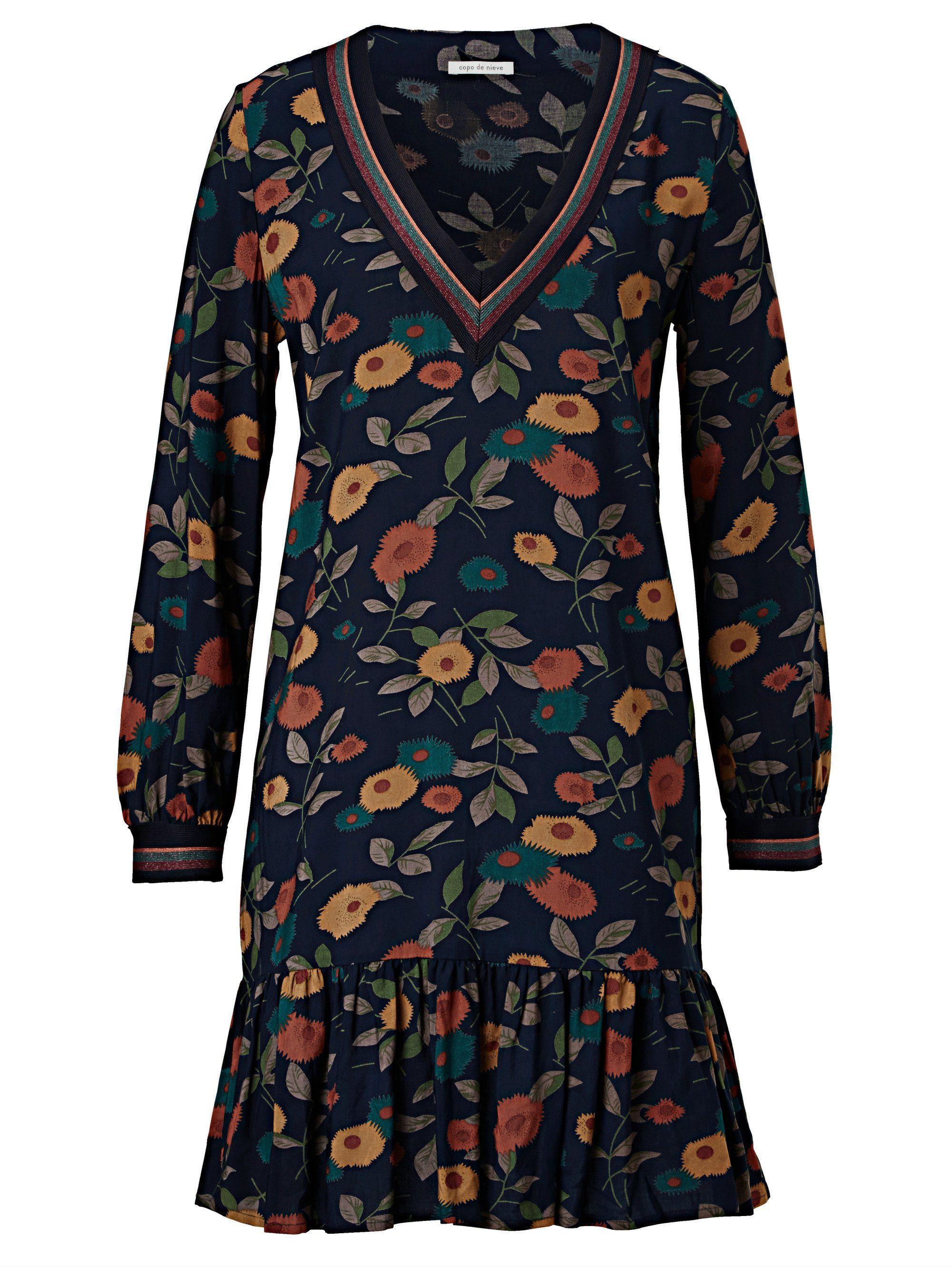 Blumenprint Mit Kaufen Copo Nieve Online De Kleid qUpGSzMV