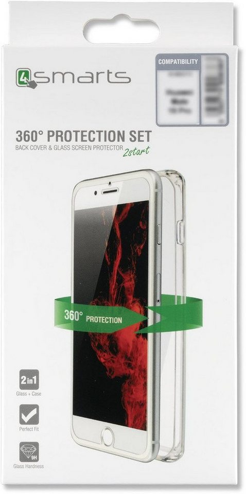 4smarts zubeh r 360 protection set f r iphone xs max. Black Bedroom Furniture Sets. Home Design Ideas