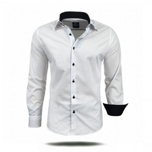 Rusty Neal Langarmhemd im ausgefallenen Design »44-1«