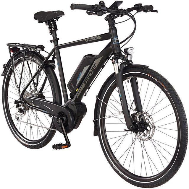 FISCHER FAHRRAEDER E-Bike Trekking Herren »ETH1861-Ready RH50«, 28 Zoll, 9 Gänge, Mittelmotor, 557 Wh*