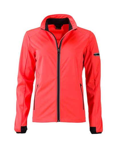James & Nicholson Softshelljacke »Ladies' Sports Softshell Jacke wasserdicht -FaS501125-«