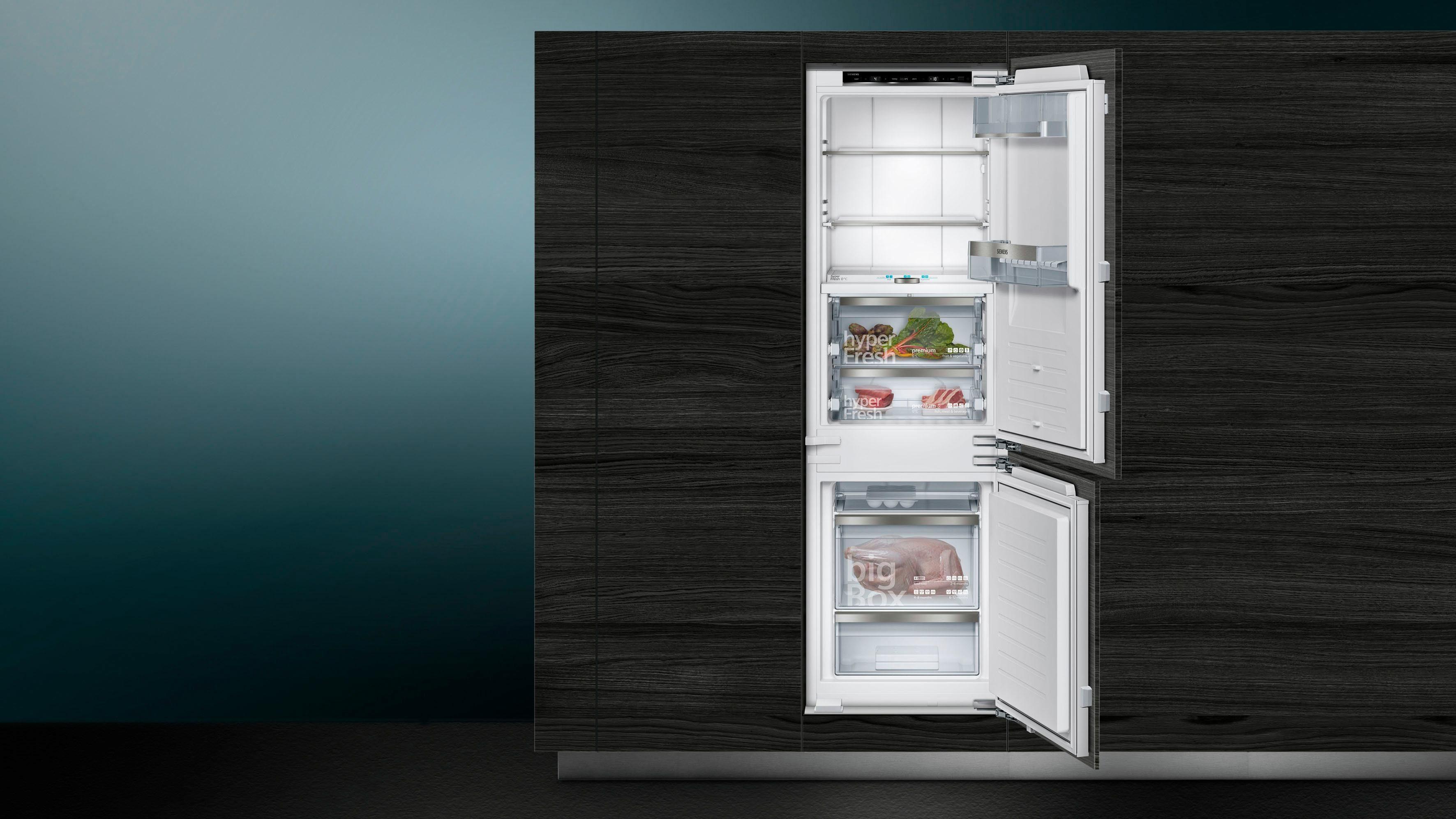 Siemens Kühlschrank 45 Cm Breit : Siemens einbaukühlgefrierkombination iq ki fpd cm