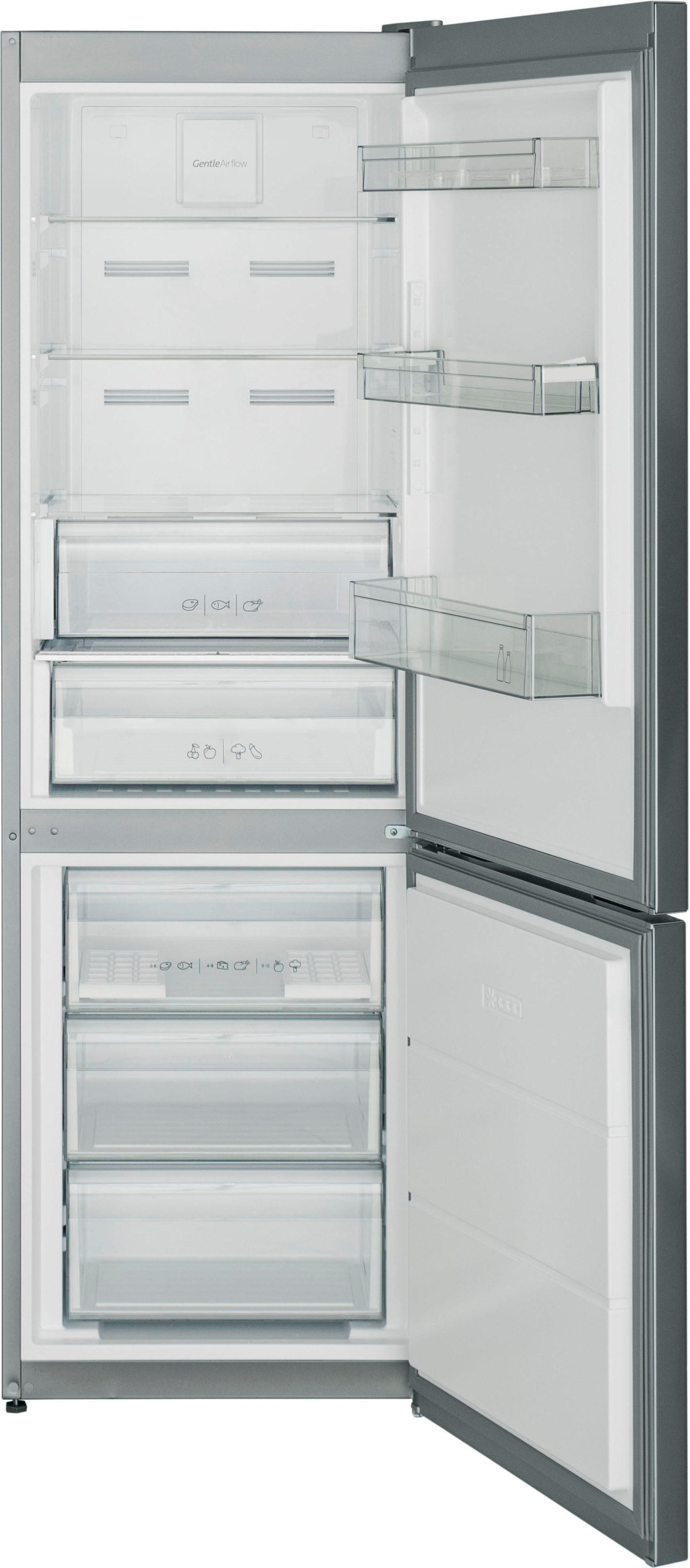 Sharp Kühl-/Gefrierkombination SJ-BA10IEXI2-EU, 186 cm hoch, 59,5 cm breit
