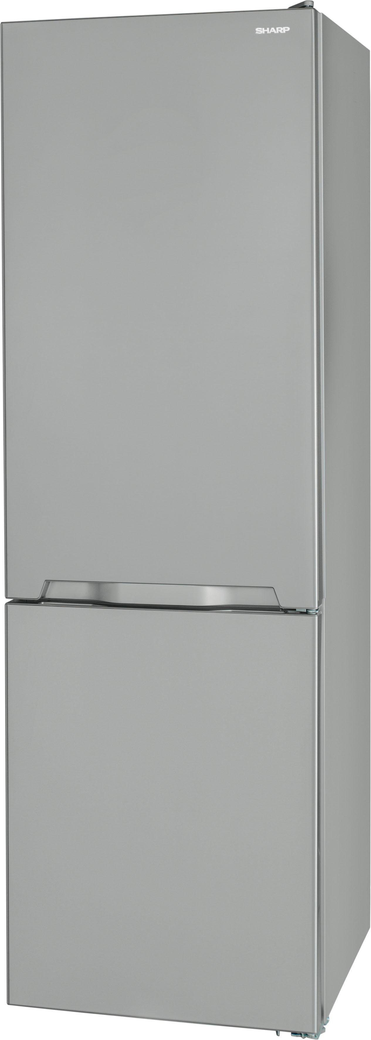 Sharp Kühl-/Gefrierkombination SJ-BA10IMXI2-EU, 186 cm hoch, 59,5 cm breit