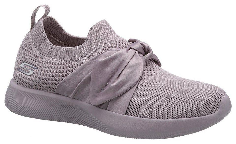 6d225e45a3a5 Skechers »Bobs Squad 2-Bow Beauty« Slip-On Sneaker in Sockwear-Optik ...