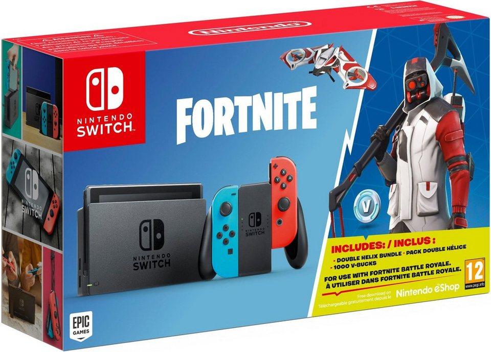Nintendo Switch Bundle Inkl Fortnite Als Gratis Downloade Im