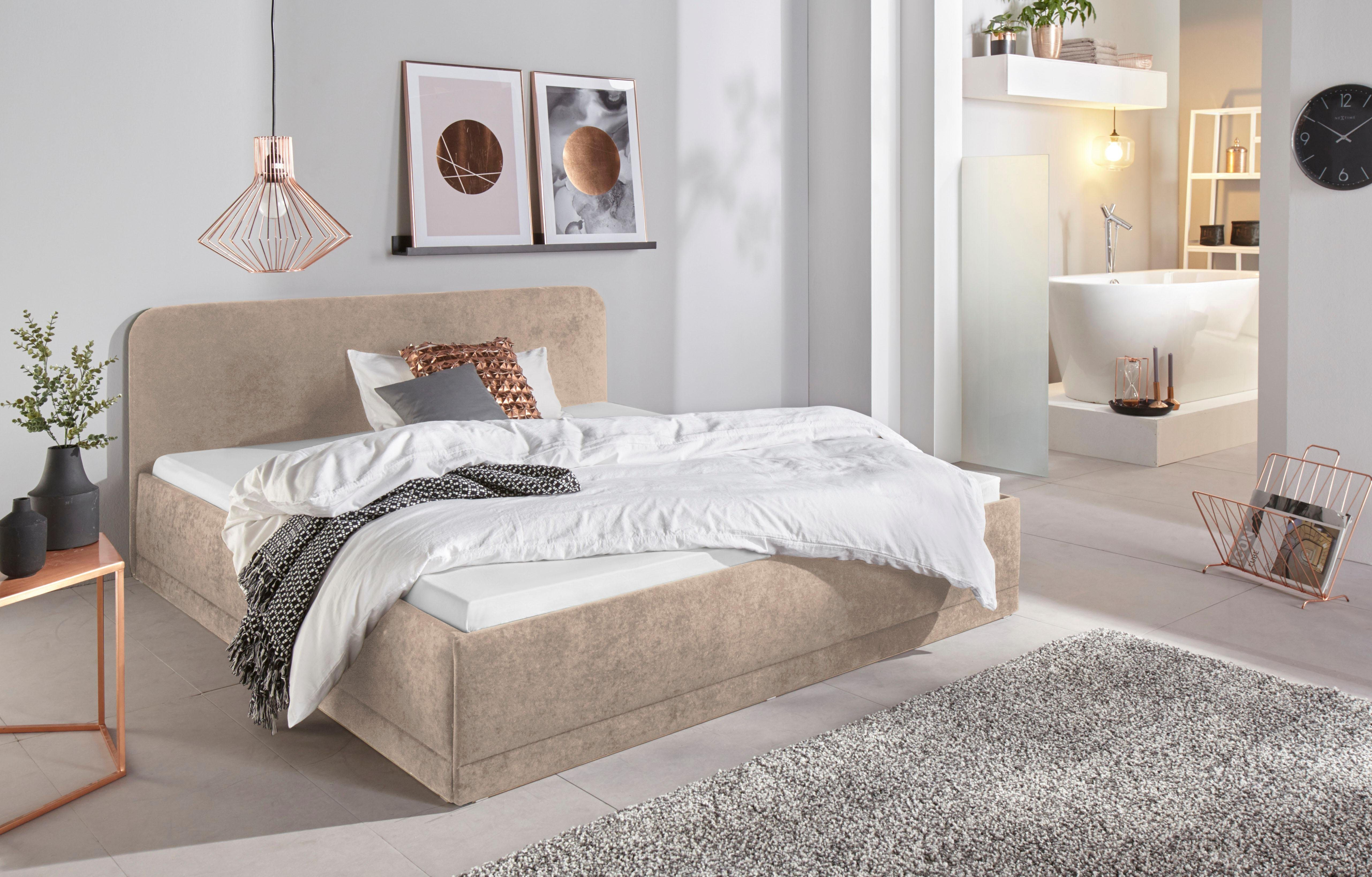 Westfalia Schlafkomfort Polsterbett, in 3 Bezugsqualitäten   Schlafzimmer   Strukturstoff - Kunstleder   Westfalia Schlafkomfort