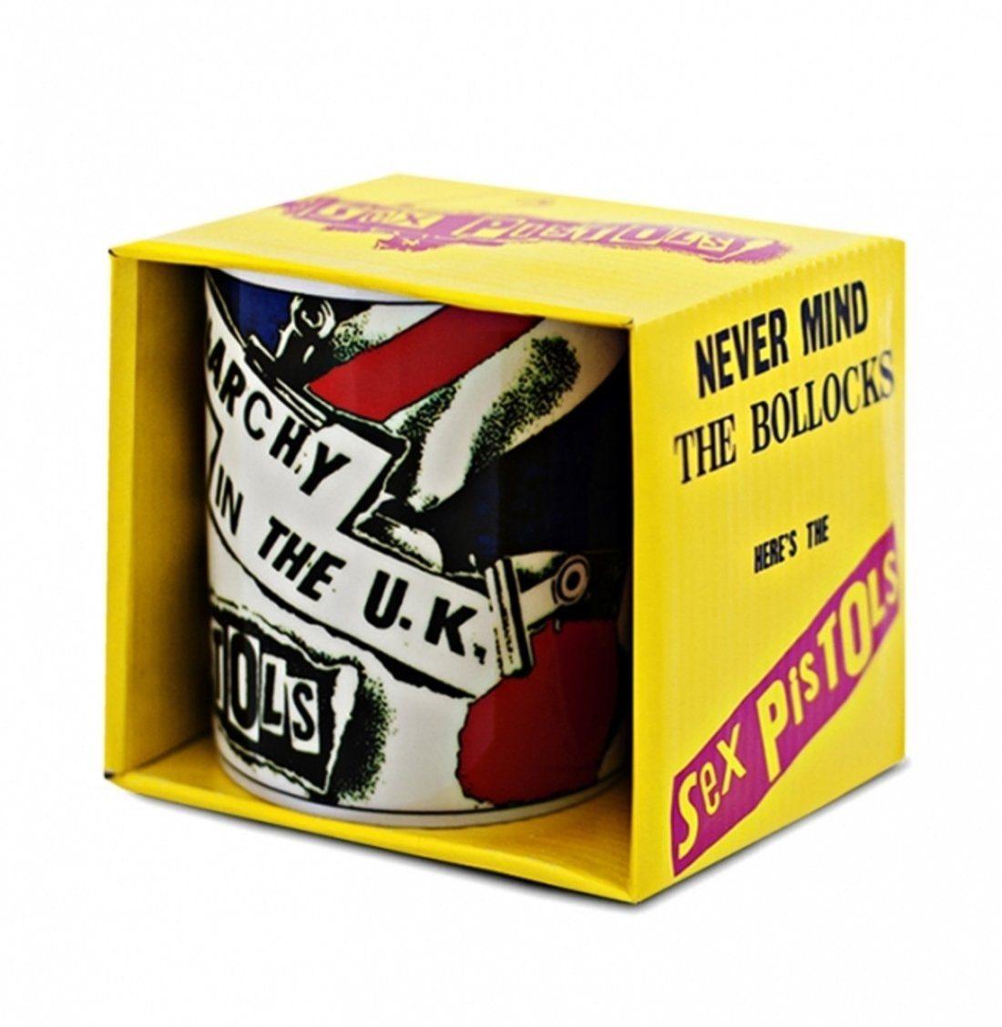 LOGOSHIRT Kaffeetasse mit Sex Pistols-Druck