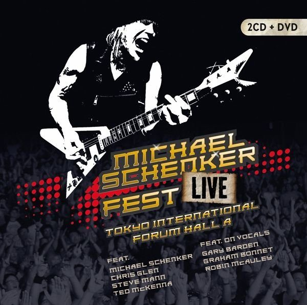 CD+DVD »Schenker,Michael: Fest-Live Tokyo...«