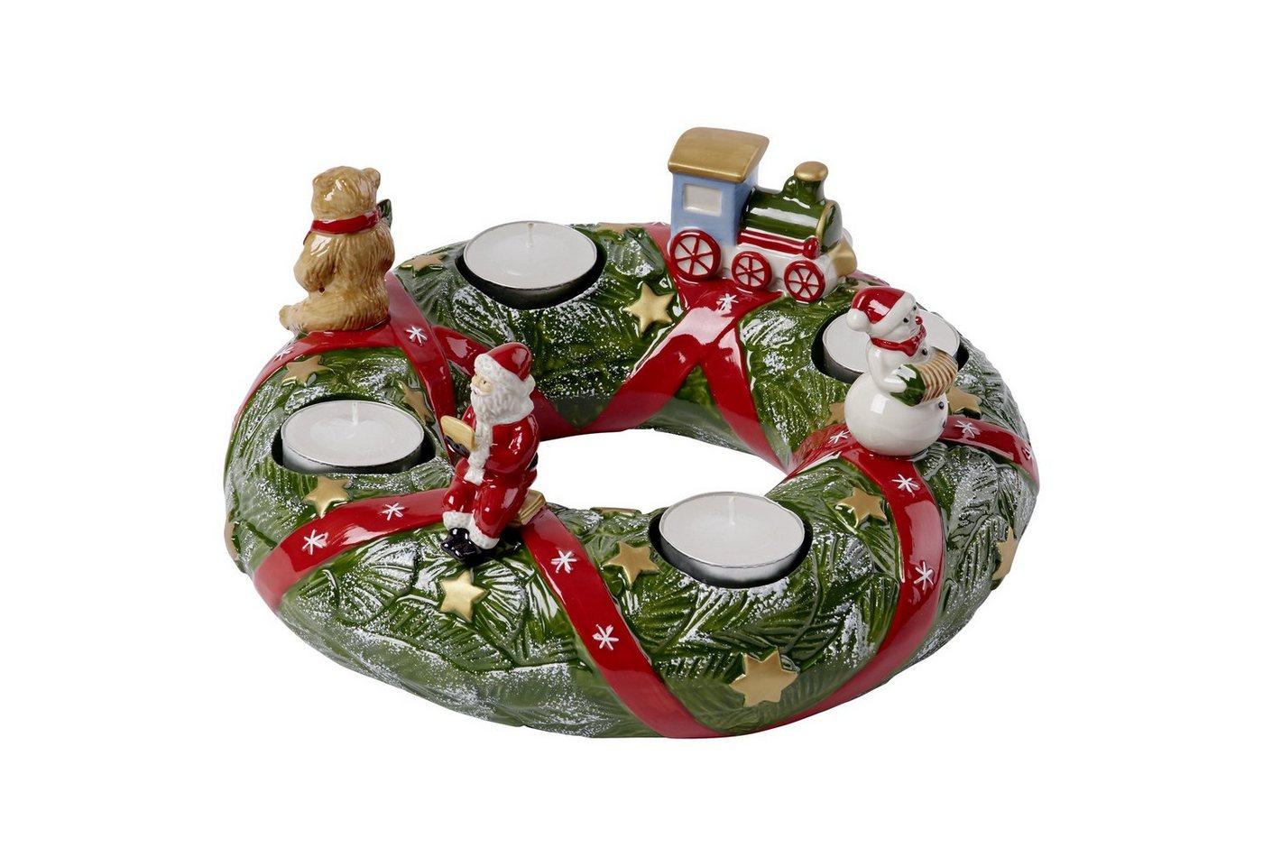 Villeroy & Boch Adventskranz North Pole »Christmas Toys Memory« | Weihnachten > Adventskranz und Weinachtsleuchter | Weiß | Villeroy & Boch