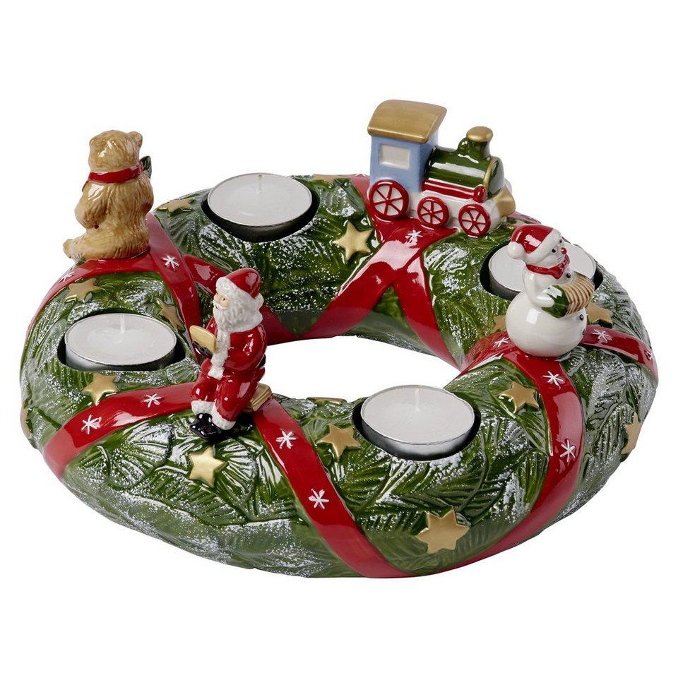 villeroy boch adventskranz north pole christmas toys. Black Bedroom Furniture Sets. Home Design Ideas