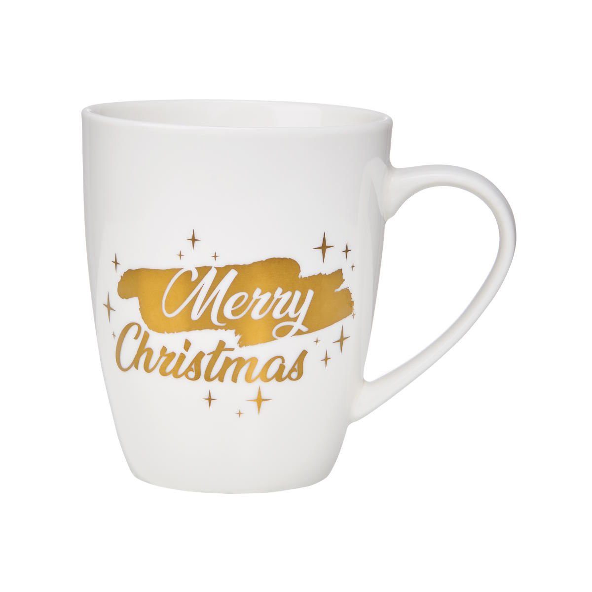 BUTLERS WHITE XMAS »Tasse Merry Christmas 350 ml«