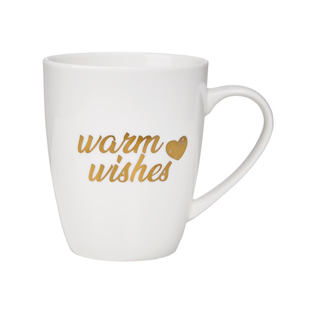 BUTLERS WHITE XMAS »Tasse Warm Wishes 350 ml«