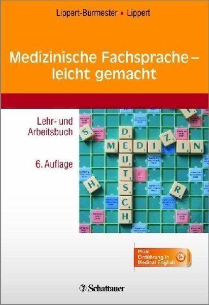Broschiertes Buch »Medizinische Fachsprache - leicht gemacht«