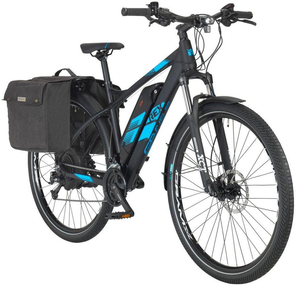 55c5d97d3d27a9 REX E-Bike Mountainbike »Graveler 960«