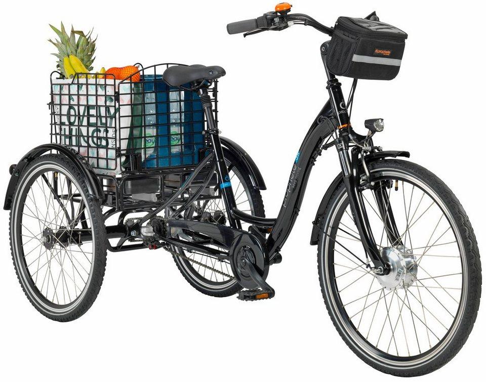prophete e bike dreirad navigator 3r 26 zoll 3 gang. Black Bedroom Furniture Sets. Home Design Ideas