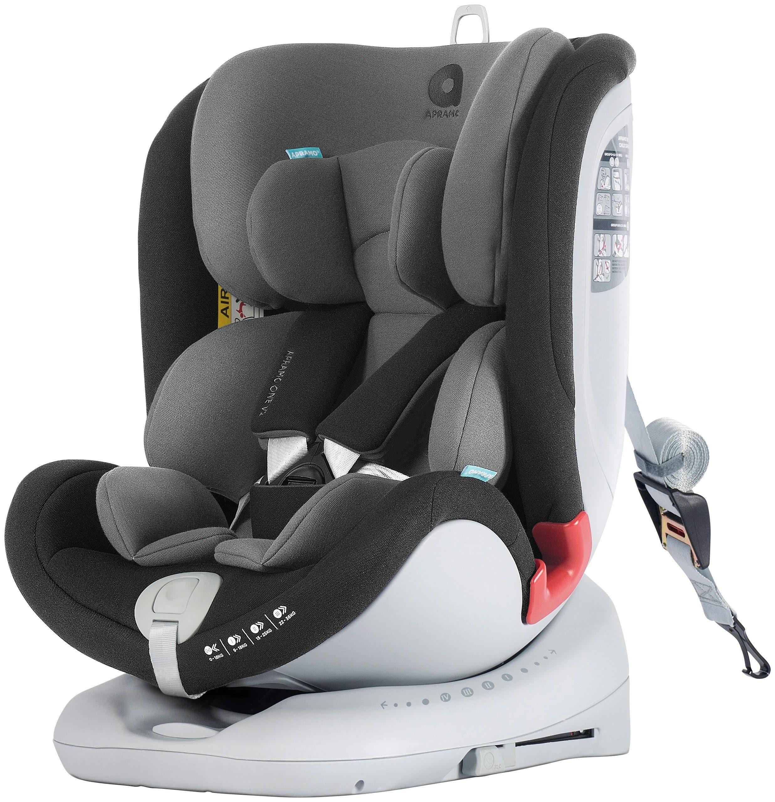 APRAMO Kindersitz »ALL STAGE«, 4in1 von 0 bis 36 kg, Isofix, Reboard+Forward