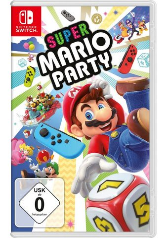 NINTENDO SWITCH Super Mario Party Nintendo Šakotuvas