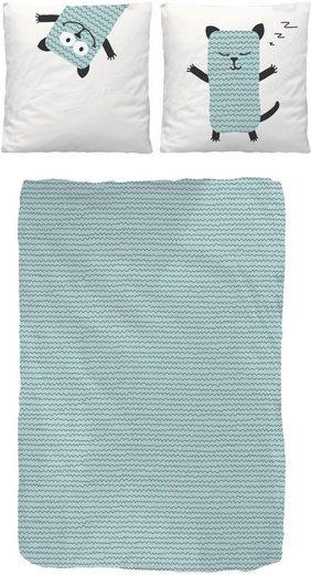 Kinderbettwäsche »Snooze«, Lüttenhütt, mit niedlichem Tiermotiv