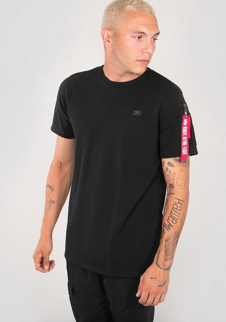 Herren Alpha Industries T-Shirt XFit Heavy schwarz   04059146144235
