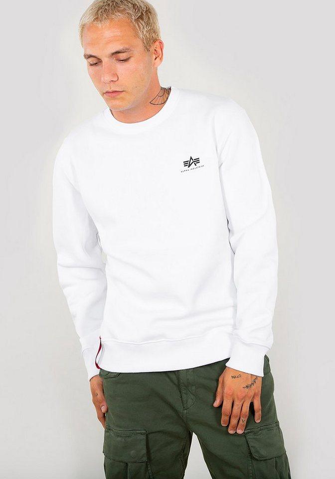 9048290068c17a Alpha Industries Sweatshirt »Basic Sweater Small Logo« online kaufen ...