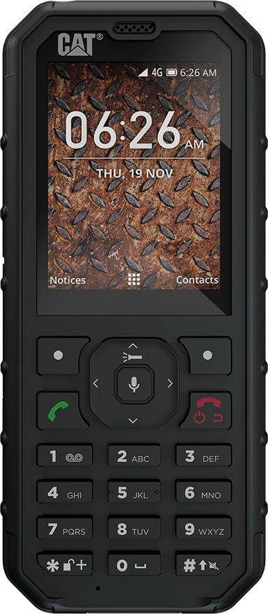 CAT B35 DualSIM Handy (6,1 cm/2,4 Zoll, 4 GB Speicherplatz, 2 MP Kamera)