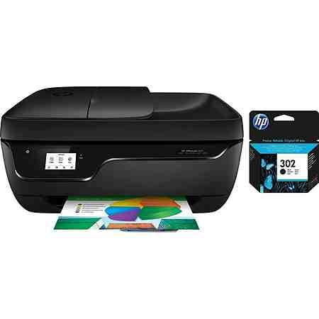 HP Officejet 3831 Drucker inkl. Tintenpatrone 302