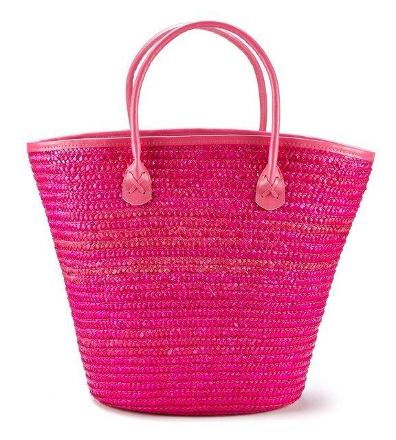 LASCANA Strandtasche, Korbtasche aus Bast | Taschen > Handtaschen > Strandtaschen | Lascana