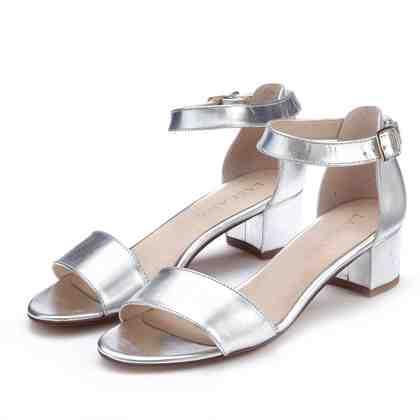 LASCANA Sandalette aus Leder