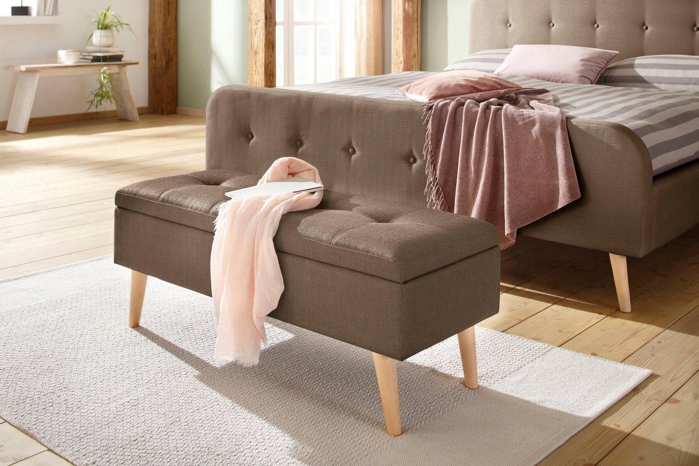 Bettbänke und Truhen - Home affaire Bank »Zena« in fünf verschiedenen Farben, in drei verschiedenen Größen  - Onlineshop OTTO