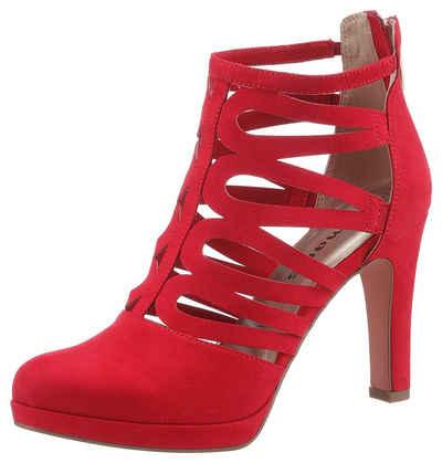 f67eef86b112d1 Tamaris High-Heel-Stiefelette im sommerlichen Design