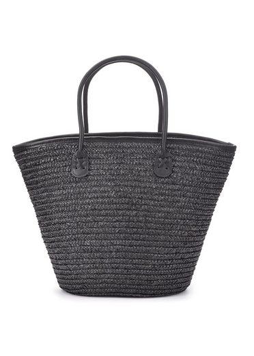 LASCANA Strandtasche, Korbtasche aus Bast