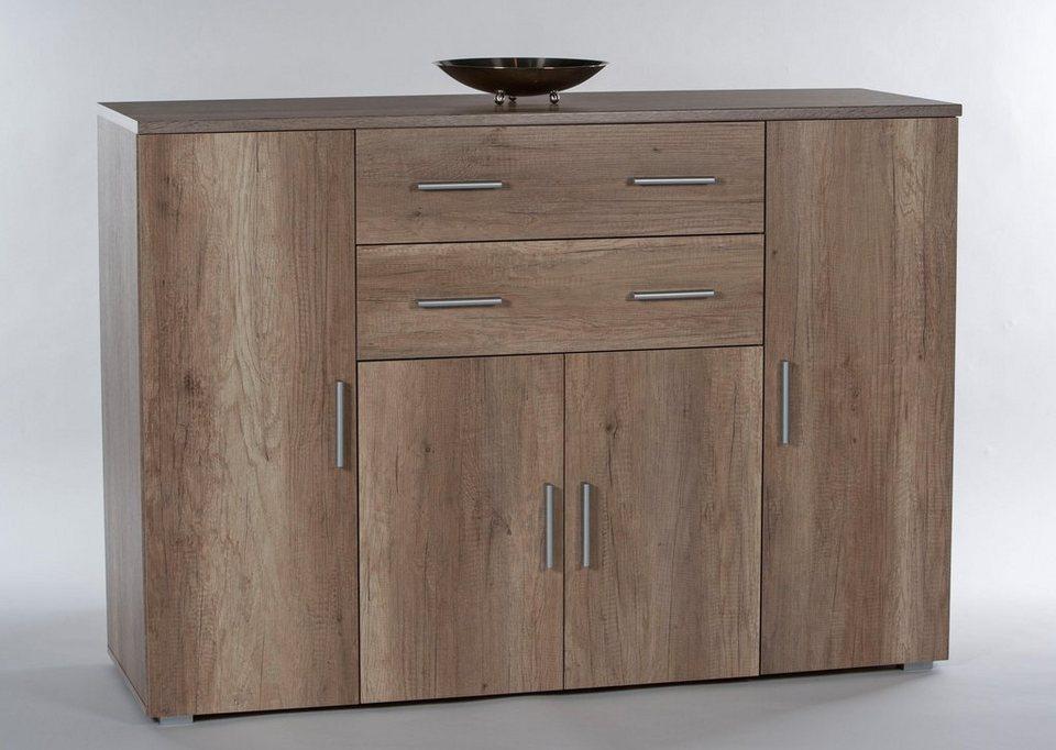 kommode pedro breite 120 cm 2 t ren online kaufen otto. Black Bedroom Furniture Sets. Home Design Ideas
