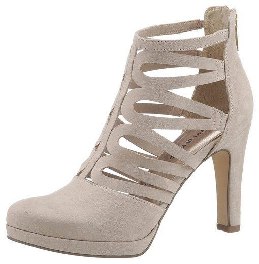 Tamaris High-Heel-Stiefelette im sommerlichen Design