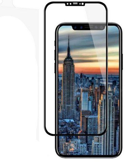 AXXTRA Schutzglas »3D Schutzglas Full Cover für iPhone X«