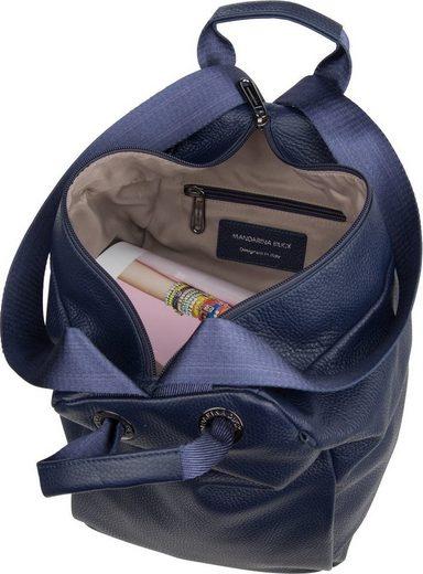Duck Backpack »mellow Fzt96« Leather Daypack Mandarina Rucksack UqwdFaa