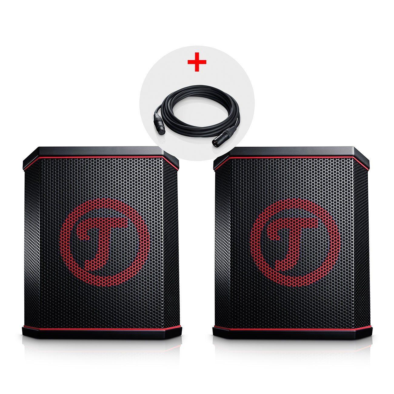 Teufel Bluetooth Lautsprecher »ROCKSTER AIR Stereo Paar«