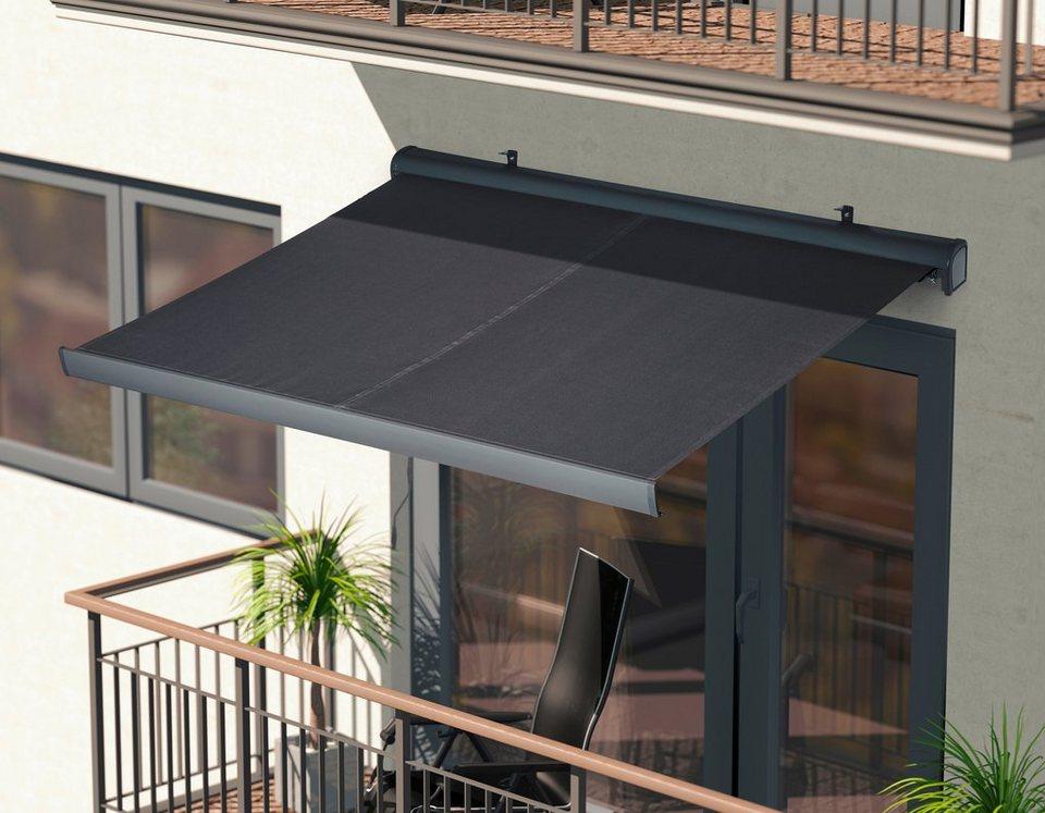 konifera halbkassettenmarkise breite ausfall 250 200 cm in versch farben online kaufen otto. Black Bedroom Furniture Sets. Home Design Ideas